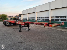 D-TEC Container chassis 45ft. / Multi / 3x uitschuifbaar / APK: 06-02-2021 semi-trailer used container