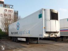 Félpótkocsi Krone SEMIRIMORCHIO, FRIGORIFERO, 3 assi használt hűtőkocsi