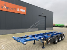 Groenewegen 20FT/30FT, valid ADR (EX/II, EX/III, FL, AT), ALCOA, NL-Chassis, APK 22-6-2021, 80% banden semi-trailer used