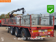 Pacton flatbed semi-trailer 2x Stuuras Kennis 14-R 60-2 4 axles Liftachse Hartholz-Boden