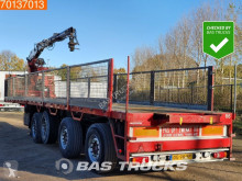 Pacton 2x Stuuras 2x Liftas 4 axles Kennis 14-R 60-2 semi-trailer used flatbed