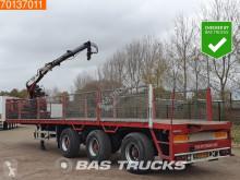 Pacton flatbed semi-trailer 2x Stuuras Kennis 14-R 60-2