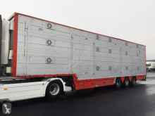 Pezzaioli 3 étages - 2 compartiments semi-trailer used livestock trailer