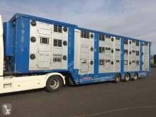 Finkl 3 étages - 2 compartiments semi-trailer used livestock trailer