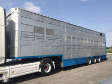 Cuppers 3 et 4 étages - 2 compartiments semi-trailer used livestock trailer