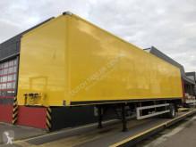 Floor furgon félpótkocsi Gesloten opbouw met laadklep en stuuras | nieuwe APK en Kabel