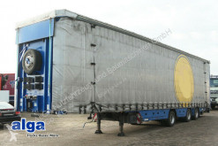 Meusburger heavy equipment transport semi-trailer MPS 3/Radmulde/Plane verbreiterbar/BPW/Luft/Lenk