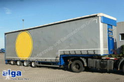 ES-GE 4 STL NA/Höhenverstellbar/Lenkachse semi-trailer used heavy equipment transport