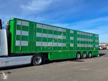 Semitrailer Pezzaioli 3 étages indépendants - 2 compartiments boskapstransportvagn ny