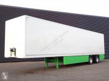 Pacton TBD.235 / STUURAS + LAADKLEP / GESLOTEN LAADBAK semi-trailer used