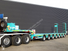 Doll S7E-S7 / 7 ACHS / 109.000 KG / PANTHER / RAMPEN / EXTENDABLE semi-trailer used heavy equipment transport