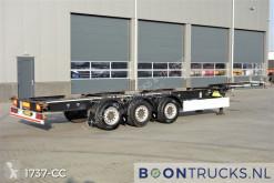 Semi remorque porte containers Schmitz Cargobull SCF 24 | 40-45ft HC * 2 x LIFTAXLE * APK 07-2021