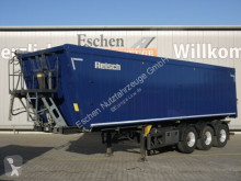 Semi remorque benne Reisch RHKS-35/24 AP, 46m³ Alu, Luft/Lift, Pendelklappe