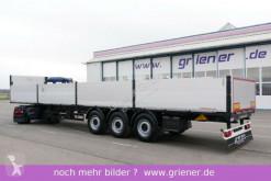 Schwarzmüller dropside flatbed semi-trailer S1 / BAUSTOFF 1000 mm bordwände neue bremse