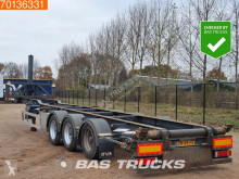 Semi remorque LAG O-3-39 KC Kipp chassis ADR Liftachse occasion