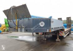 Langendorf heavy equipment transport semi-trailer Tieflader