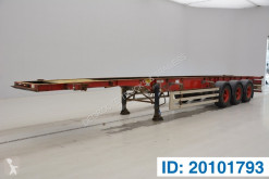 Semitrailer containertransport Montracon Skelet 40 ft