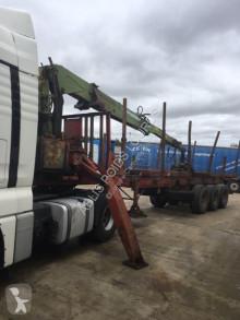 Semi reboque transporte de madeira Diebolt Non spécifié