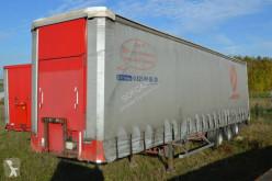 Semitrailer Lecitrailer skjutbara ridåer (flexibla skjutbara sidoväggar) begagnad