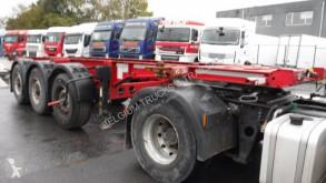 Semi remorque Krone 20 pieds 3 essieux porte containers occasion