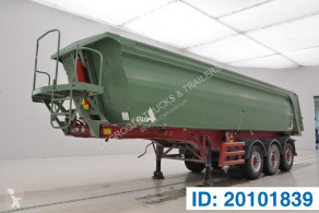 Stas 30 cub in alu semi-trailer damaged tipper