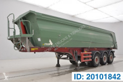 Stas 30 cub in alu semi-trailer used tipper