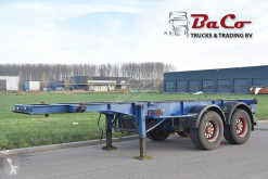 Renders container semi-trailer ROC 12.18 CC 20 - SAF AXLES - DRUM BRAKES -