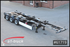 Schmitz Cargobull Auflieger Fahrgestell SCF 24 G -45 EURO Multi 20 bis 45 , Front + Heckauszug