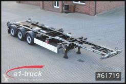 Semirremolque chasis Schmitz Cargobull SCF 24 G -45 EURO Multi 20 bis 45 , Front + Heckauszug