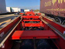 Semitrailer Asca Coulissant a air 45 pieds.BA 204 QV containertransport begagnad