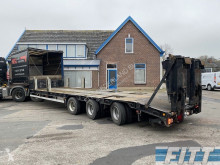 Goldhofer STZ-LS-30/80 semi dieplader 2x stuuras, dubbele kleppen semi-trailer used heavy equipment transport