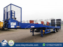 Kempf heavy equipment transport semi-trailer SPT32/2 1x steer. hydr. ramp