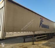 Félpótkocsi Montenegro Semitauliner használt függönyponyvaroló