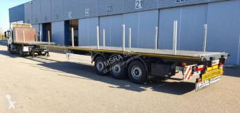 Semi remorque plateau Lecitrailer Plateau Extensible 20.50m - Porte containers - Disponible