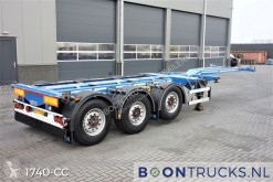 D-TEC FLEXITRAILER | 2x20-30-40-45ft HC * DISC BRAKES * APK 06-2021 semi-trailer used container