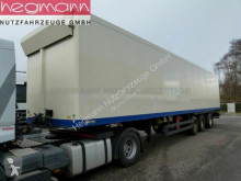 Semi remorque frigo MSK 24-13, Rolltor, Stckstoffkühlung, Lenkachse