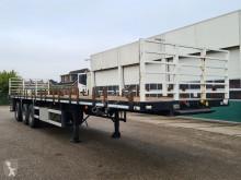 Semi remorque plateau Burg Bpdo 12 27 Ls Gas container vervoer