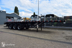 Sergomel 3 axle flatbed spring suspension semi-trailer new flatbed