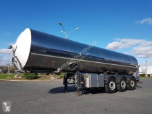 Semirremolque cisterna alimentario ETA CITERNE INOX 29000 litres - Cuve endommagée