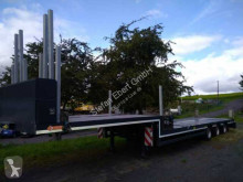 Lintrailers 3LSDU-18-30 / Teleskop / Rungen semi-trailer used heavy equipment transport