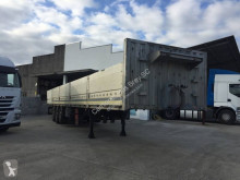 Leciñena flatbed semi-trailer Caja abierta tres ejes neumatica, disco