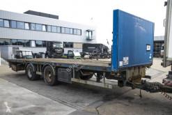 Sættevogn Samro PLATEAU 8.1 m + TANDEM flatbed brugt