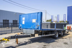 Samro TANDEM - 8,2 M semi-trailer used flatbed