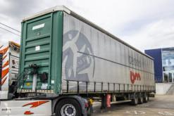 Fruehauf box semi-trailer BACHE - H = 3.1 M