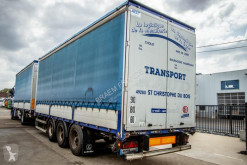 Lecitrailer box semi-trailer RIDELLES/BORDWAND -