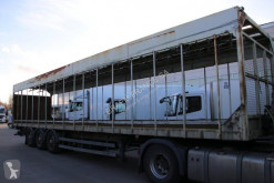 Samro flatbed semi-trailer Pluimvee / volaile /poultry