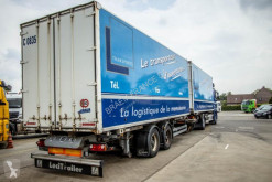 Lecitrailer tarp semi-trailer CAISSE MOBILE - TANDEM