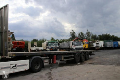 Samro S338 semi-trailer used flatbed