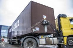 Semitrailer Samro S33-CAISSE FOURGON transportbil begagnad