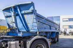 Decauville tipper semi-trailer ORIGINAL-ACIER- 2XLAMES